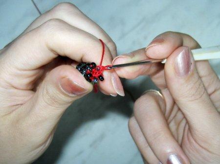 Учимся вязать гладкий жгут (полустолбиком)