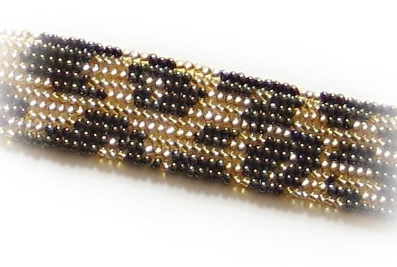 Схема плетения полотна ндебеле