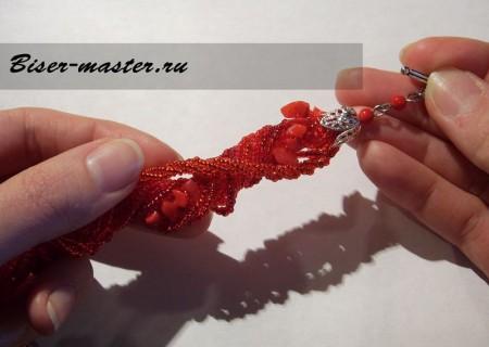 Способ скрутки браслетов и ожерелий