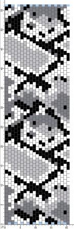 Схемы комплектов (жгуты и мозаичные браслеты)