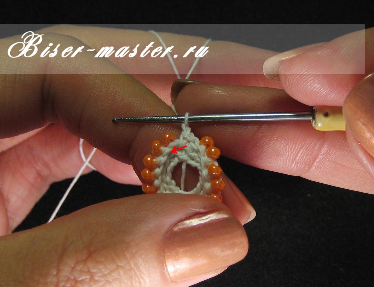 В контакте вязание с бисером 75