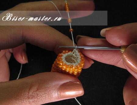 Мастер-класс по вязанию жгутов из бисера крючком