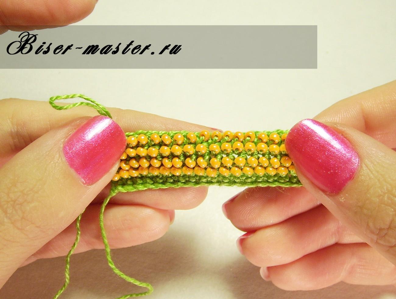 Уроки вязания бисером