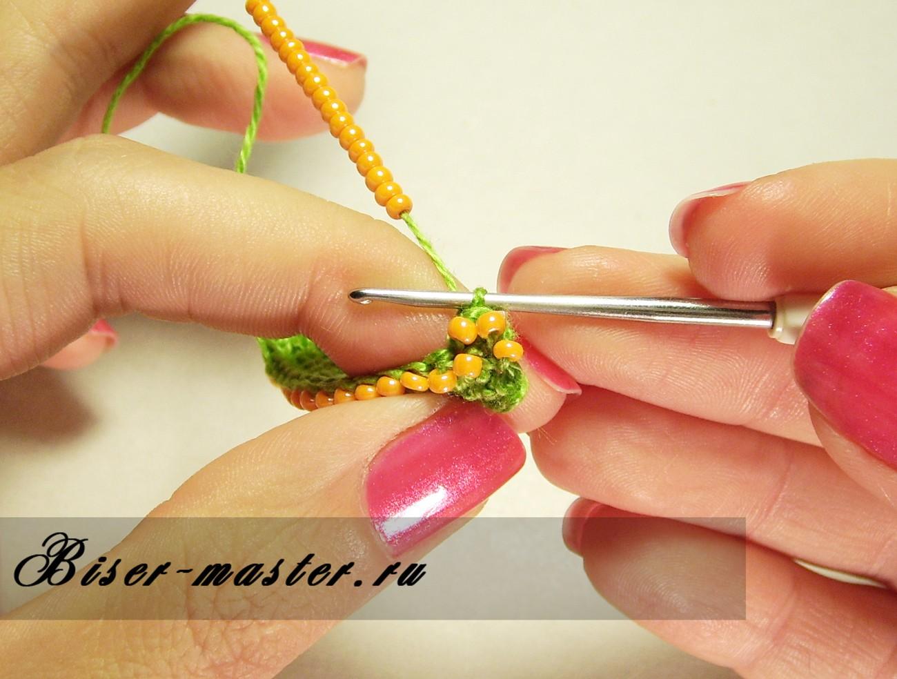 Вязание бисером мастер класс