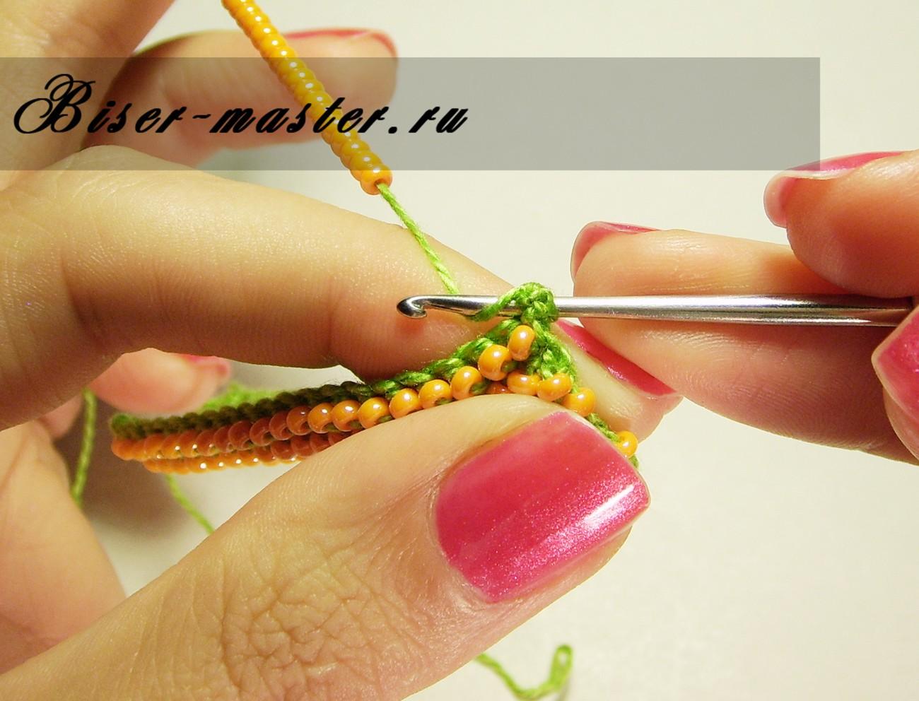 В контакте вязание с бисером 72