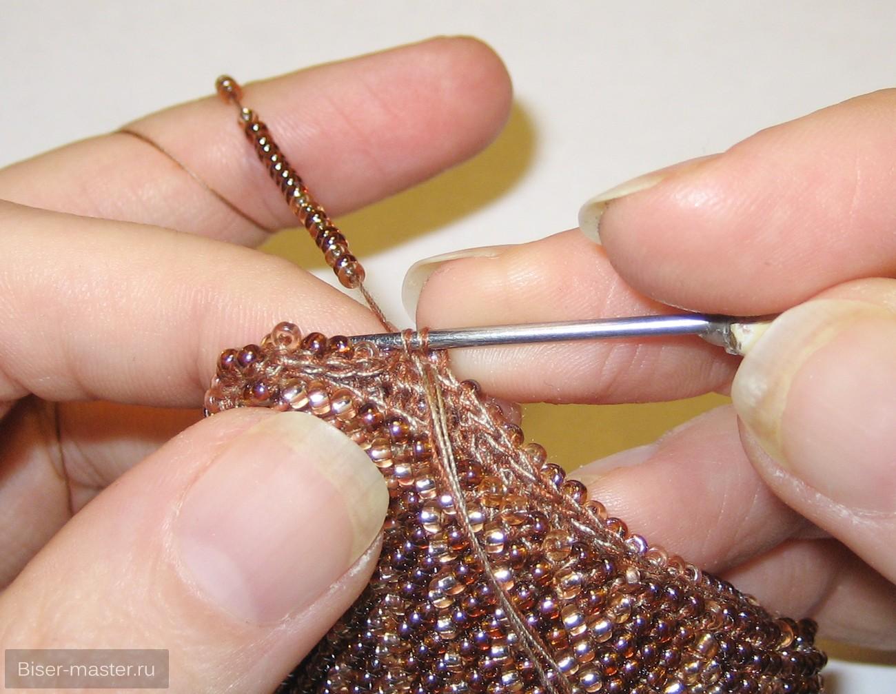 Как нарастить нитку при вязании